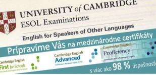Certifikát angličtiny, jazyková škola